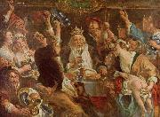 Jacob Jordaens. The King Drinks