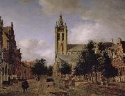 Old church landscape