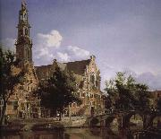 Canal and Church of the scenic West