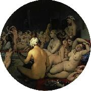 Jean Auguste Dominique Ingres The Turkish Bath oil painting on canvas