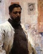 Joaquin Sorolla Self portrait oil painting reproduction
