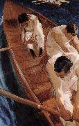 Joaquin Sorolla Canoeing oil painting reproduction
