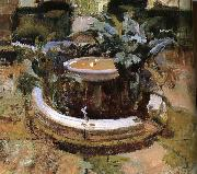 Joaquin Sorolla Yard oil painting reproduction