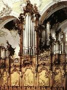 Johan Christian Dahl Organ oil painting artist