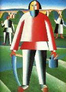 Kazimir Malevich Mower oil painting reproduction