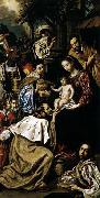 Luis Tristan The Adoration of the Magi oil painting reproduction