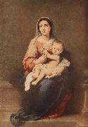 MURILLO, Bartolome Esteban Madonna and Child oil painting reproduction