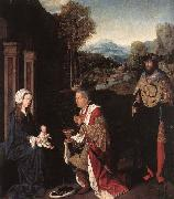 Master of Hoogstraeten Adoration of the Magi oil painting reproduction