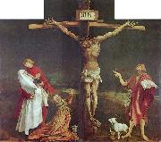 Matthias Grunewald The Crucifixion, central panel of the Isenheim Altarpiece. oil painting