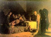 Nikolai Ge The Last Supper oil painting reproduction