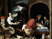 ORRENTE, Pedro The Supper at Emmaus oil painting reproduction