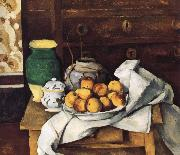 of still life with fruit