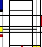 Piet Mondrian, Composition 10