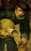 Pieter Bruegel detalj fran bondbrollopet oil painting reproduction