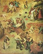 Pieter Bruegel detalj fran barnens lekar oil painting on canvas