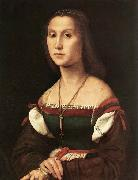 RAFFAELLO Sanzio Portrait of a Woman oil painting reproduction