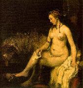 Bathsheba in her bath, also modelled by Hendrickje,