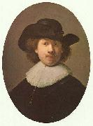 Rembrandt in 1632, when he was enjoying great success as a fashionable portraitist in this style.