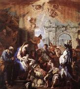 RICCI, Sebastiano The Adoration of the Magi oil painting reproduction