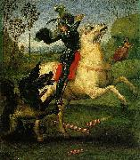Saint George and the Dragon, a small work