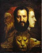 The Allegory of Age Governed by Prudence is thought to depict Titian,