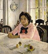 The girl with peaches  was the painting that inaugurated Russian Impressionism.