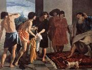 Jacob give Joseph a coat of blood