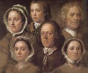 Hogarth s six servants