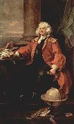 Hogarth portrait of Captain Thomas Coram