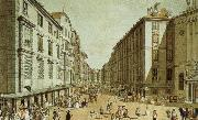 vienna in the 18th century a view of one of its streets, the kohlmarkt