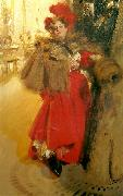 Anders Zorn natteffekt oil painting reproduction