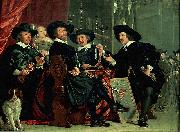 Bartholomeus van der Helst Governors of the archers' civic guard, Amsterdam oil painting reproduction
