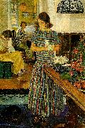 Carl Wilhelmson nackrosor oil painting reproduction