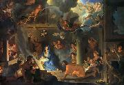 Charles le Brun Adoration by the Shepherds oil painting