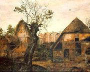 Cornelis van Dalem Landscape with Farm oil painting artist