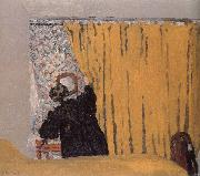 Edouard Vuillard Yellow curtains oil painting reproduction