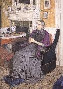 Edouard Vuillard KaiPuFu Mrs oil painting reproduction