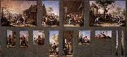 Francisco Bayeu Painting with Thirteen Sketches oil painting