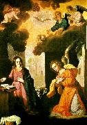 Francisco de Zurbaran annunciation oil painting reproduction