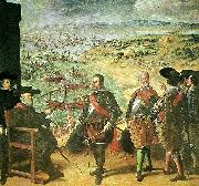 Francisco de Zurbaran the defense of caadiz against the english oil painting reproduction