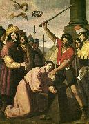 Francisco de Zurbaran the martydom of st james. oil painting reproduction