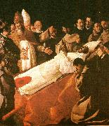 Francisco de Zurbaran death of st. buenaventura oil painting reproduction