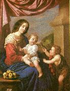 Francisco de Zurbaran virgin and child with st, oil painting reproduction