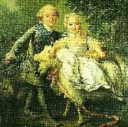 charles de france and his sister marie- adelaide