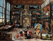 Frans Francken II Galerie eines Sammlers oil painting reproduction