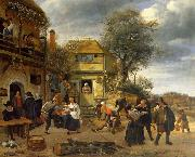 Peasants before an Inn