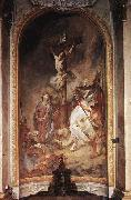 MAULBERTSCH, Franz Anton Crucifixion oil painting reproduction