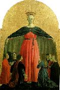 madonna della misericordia, central panel of the polyptych of the misericordia