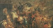 RUBENS, Pieter Pauwel Triumphal Entry of Henry IV into Paris oil painting reproduction
