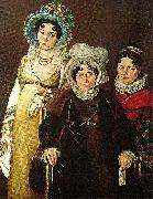 mme morel de tangry and her daughters